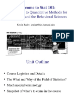 Unit 01 -  Intro to Statistics - 1 per page