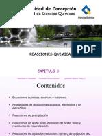 Capitulo 3 - Reacciones Quimicas