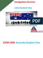 Australia Student Visa in Chandigarh