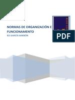 Normas de Organización e Funiconamento