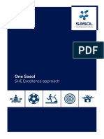 10.5 One Sasol SHE Excellence Approach and Group Controls