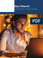 Wiley CPAexcel January 2017 Update