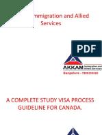 Canada Student Visa Consultants in Bangalore