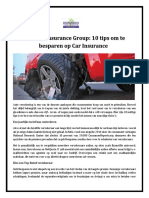 Donavan Insurance Group - 10 Tips Om Te Besparen Op Car Insurance