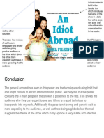 Ancillary Deconstruction - An Idiot Abroad (Poster)