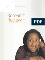Research Review 2001