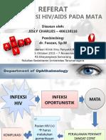 Referat Jesly - Manifestasi Hiv Aids Pada Mata