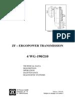 Zf 5872 194 002 Ergopower Transmission 4 Wg-190_210