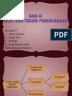 Bab 9 Manajemen Kel.7 Akuntansi Semester 1
