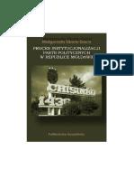 Proces instytucjonalizacji partii politycznych w Republice Mołdawii [The Process of Institutionalization of Political Parties in the Republic of Moldova]