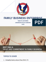 PPT 6 Trust and Commitment in Family Business