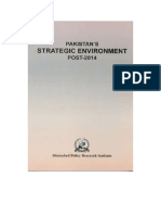 Pakistan's Strategic Environment Post 2014