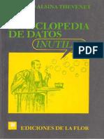 Homero Alsina Thevenet - Una Enciclopedia de Datos Inútiles