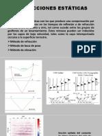 Corrección estática y migración sísmica