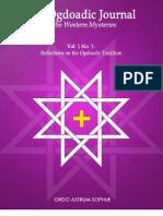 The Ogdoadic Journal - Vol. 1 No. 1