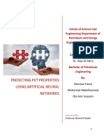 PREDICTING PVT PROPERTIES USING ARTIFICIAL NEURAL NETWORKS