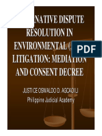 1st Session - ADR in Environmental Litigation (Justice Agcaoili) Amended 1201