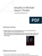 Intertextuality in Michael Jackson's Thriller.pptx