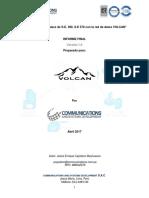 Informe Final Volcan - COMM
