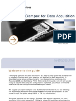 Setting Up Clampex for Data Acquisition