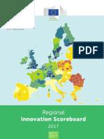 Regional Innovation Scoreboard 2017