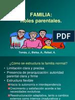 Familia Roles Parentales