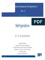 Thermo II Lecture 1 Refrigeration