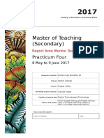 master tchg mentor sec prac4 8may to 9june 2017 muhammad muzaffar ali