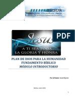 Modulo Introductorio Plan de Dios Para La Humanidad