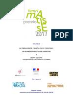 Henri Matisse Premio 2017 - Gente de Arte - Reglamento - Portalguarani