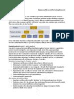 Summary Advanced Marketing Research