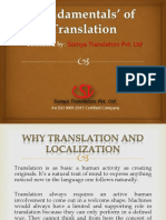 Fundamental of Translation