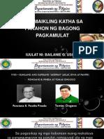 MK Panahong Ng Bagong Pagkamulat
