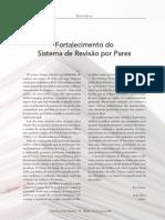 Fortalecimento do sistema de revisão por pares