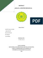 Tugas Referat Anestesi Regional