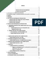 Sistema de Producción, Tecnología en La Producción y Valor Agregado
