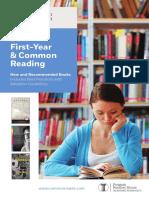 Common Reads 2017 Catalog