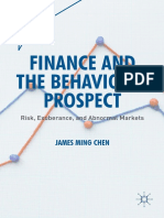 (Quantitative Perspectives on Behavioral Economics and Finance) James Ming Chen (Auth.)-Finance and the Behavioral Prospect_ Risk, Exuberance, And Abnormal Markets-Palgrave Macmillan (2016)