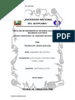TEORIA DE LINEALIZACION  para control.doc