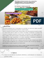 Producto Alimenticios Que Comercializan en Mercado Minorista-pucallpa, 2017