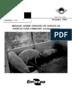 Manual Para Criação de Porcos