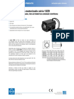 13ZD Series Motorized Zoom Lens Specification Sheet - Portuguese
