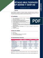 2. Repsol - Cartago Multigrado Ep 85w140
