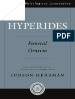 Herrman, Judson - Hyperides Funeral Oration-Oxford University Press (2009)