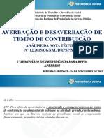 4.NT MPS 12-2015 - Averbação e Desaverbação - Leonardo Cota