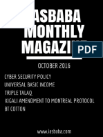 October Monthly Magazine