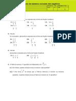 Multiplicação e Divisão de Números Racionais Não Negativos