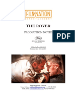 The Rover -- Production Notes