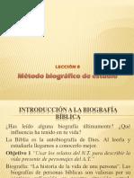 Mc3a9todo Biogrc3a1fico de Estudio