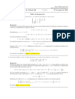 Corrección Examen Final Cálculo III (Ecuaciones Diferenciales) 27 de junio de 2017